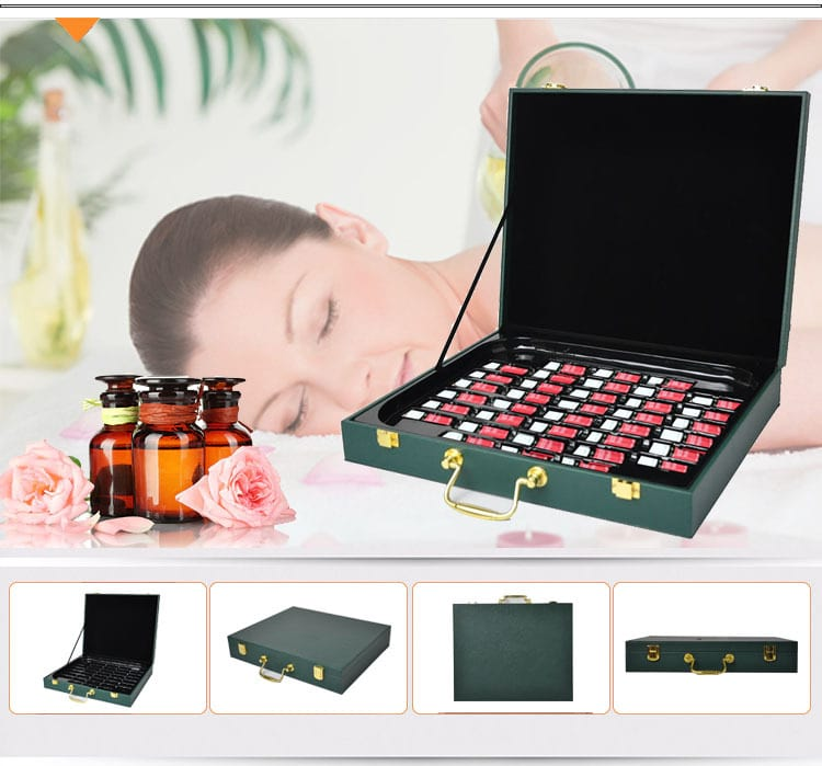 essential oil case - custom packaging display pu box essential oil carrying case wholesale