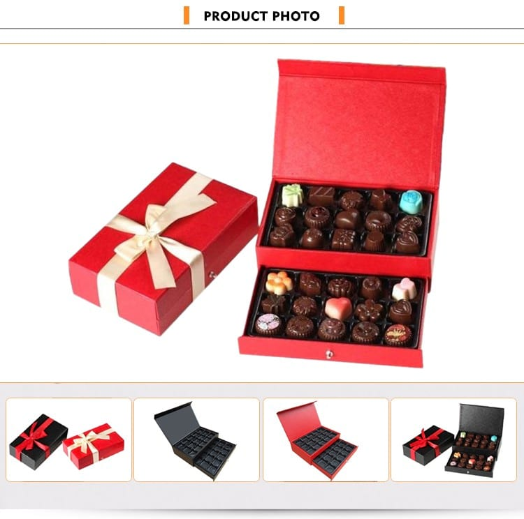 gift box packaging -custom food chocolate gift box packaging