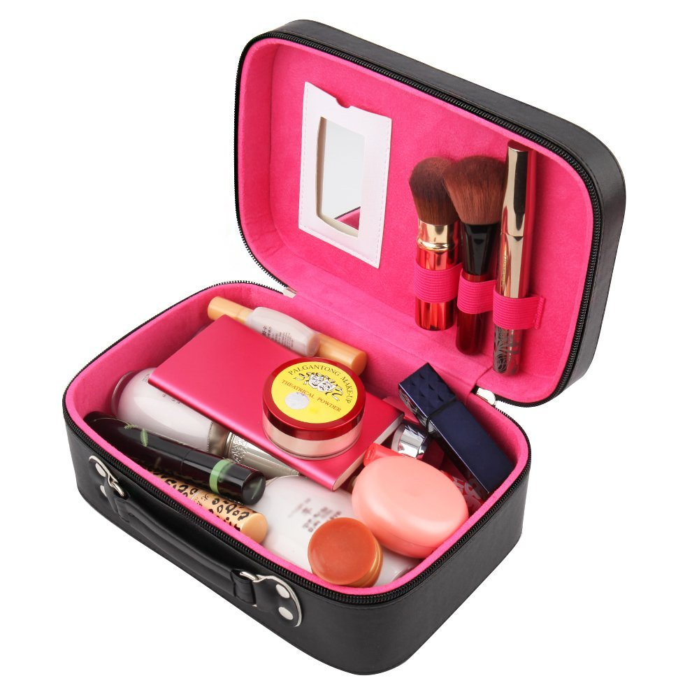 cosmetic box packing -- Cute  PU Leather Makeup Case