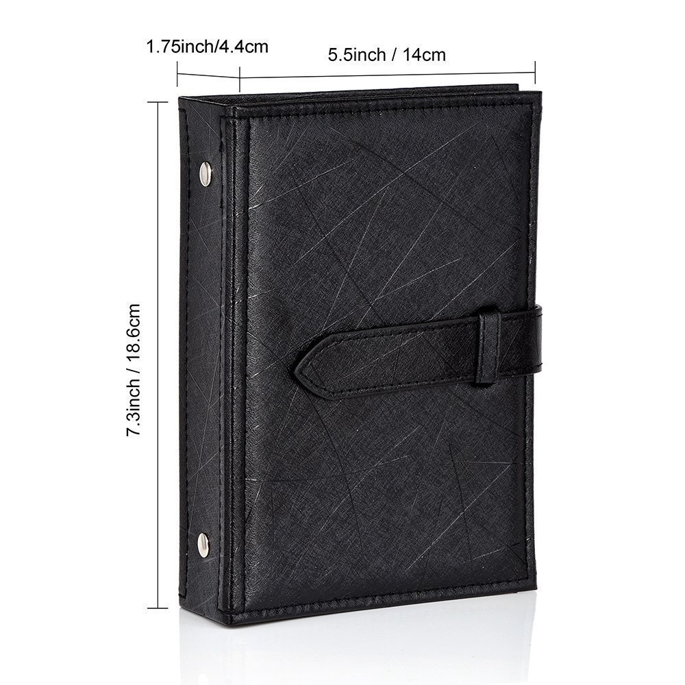 earring jewelry boxes - PU Leather Earring Storage Book