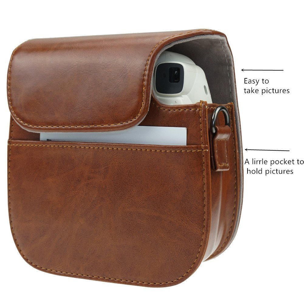 leather camera case - Custom fashion PU Leather Camera Case
