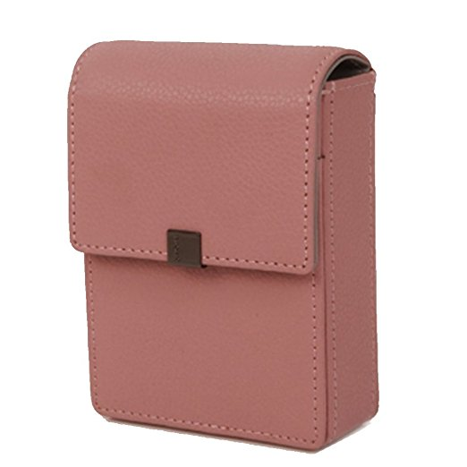 cigarette box-Soft Genuine Leather Cigarette Case