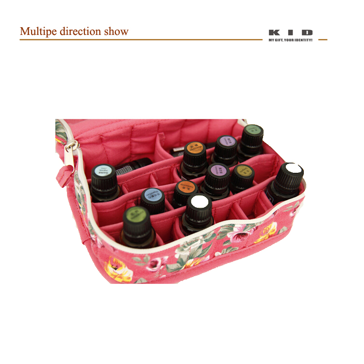 essential oil pouch - tote essential oil bag with 20 bottles